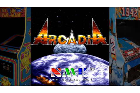 Arcadia - NMK (1994) / Arcade Game - YouTube