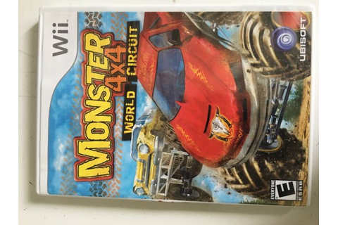 WII MONSTER 4x4 WORLD CIRCUIT GAME | eBay
