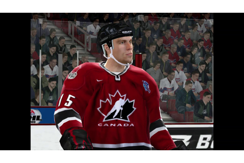 NHL 2005 Gamplay World Cup of Hockey - Game 1 - YouTube