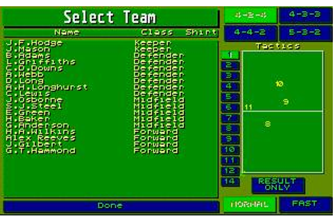 Player Manager Download (1990 Amiga Game)