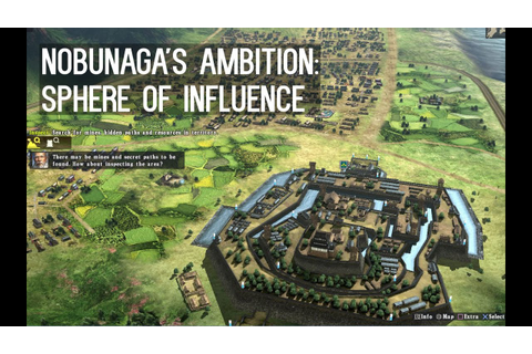 NOBUNAGA'S AMBITION: Sphere of Influence [Gameplay, PC ...