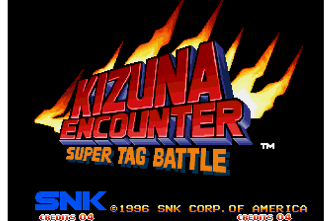Kizuna Encounter: Super Tag Battle (1996) by SNK Neo-Geo game