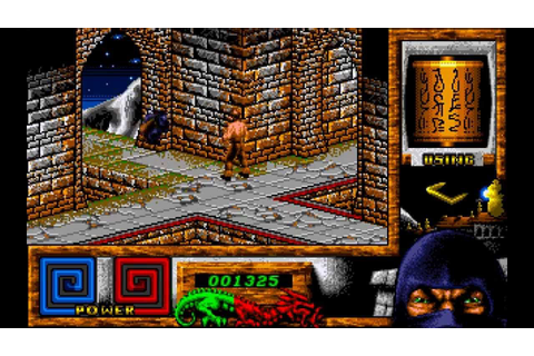 Last Ninja 3 Longplay (Amiga) [50 FPS] - YouTube