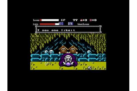 Getsu Fūma Den [English] (NES) Gameplay Sample - YouTube
