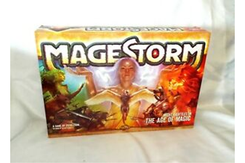 MAGESTORM Board Game, Nexus Games, Battles in the age of Magic