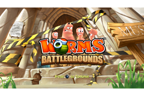 Worms Battlegrounds – Load the Game