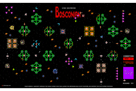 Bosconian - The Mission by crvnjava67 on DeviantArt