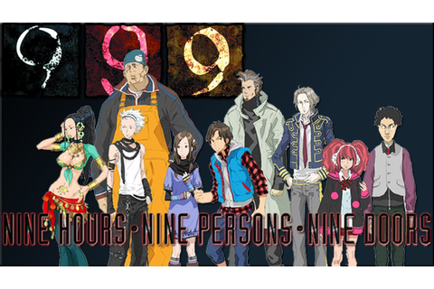 {999} 9 Hours 9 Persons 9 Doors Ep.1 So Much Reading ...
