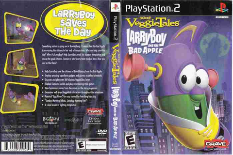 Larry Boy and the Bad Apple Video Game: Was it a Good Idea ...