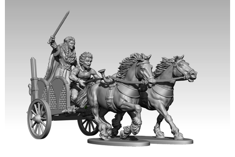 "[TMP] ""Victrix: Ancient British War Chariot Preview"" Topic"
