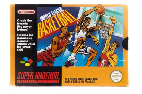 World League Basketball - Super Nintendo [SNES] Game ...
