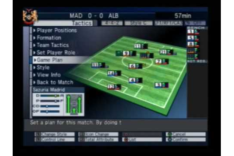 Let's Make a Soccer Team! [Playstation 2] Full Match - YouTube