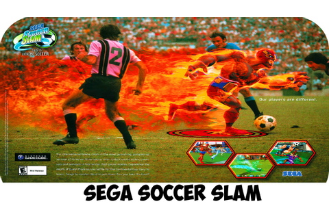 Sega Soccer Slam - 2 Matches Gameplay GAMECUBE HD - YouTube