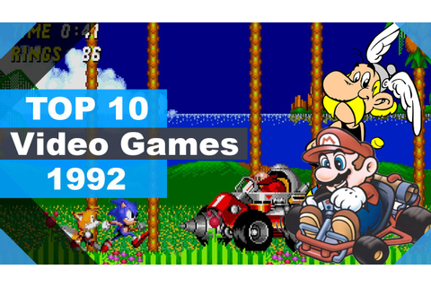 TOP 10 Video Games 1992 - YouTube