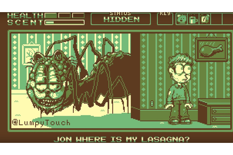 """Garfield Gameboy'd"" is the Most Horrifying Video Game ..."