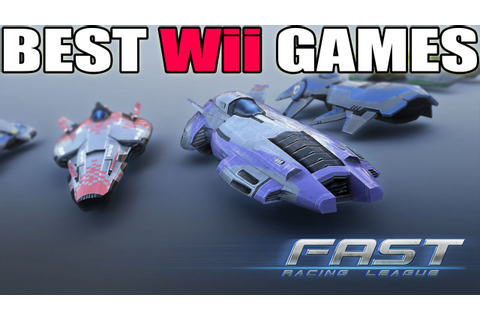 BEST Wii GAMES / FAST Racing League (60fps) - YouTube