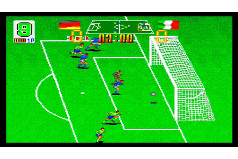 Super Soccer Champ (SNES) gameplay - YouTube