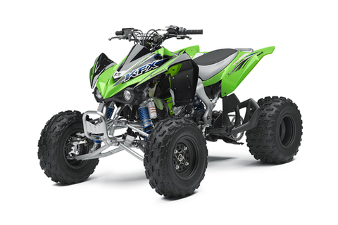 2014 Kawasaki KFX450R Review - Top Speed