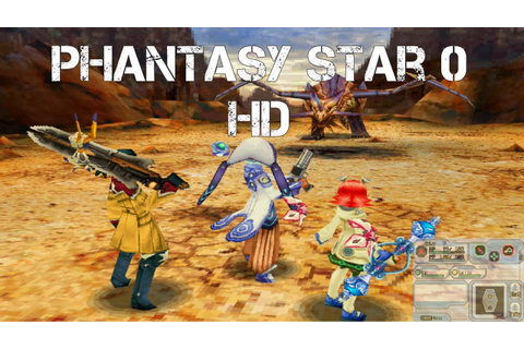 Phantasy Star Zero Game Highlights HD (improved graphics ...