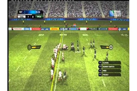 Rugby World Cup 2011 Official Game - First look Gameplay ...