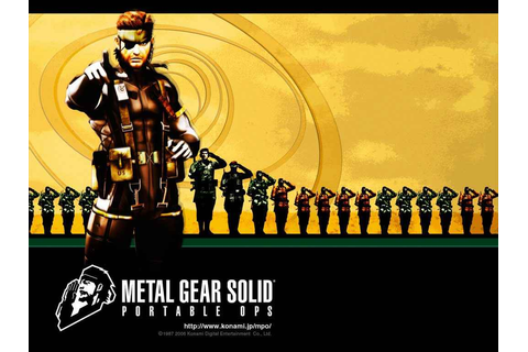 Metal Gear Solid: Portable Ops - PlayStation Universe