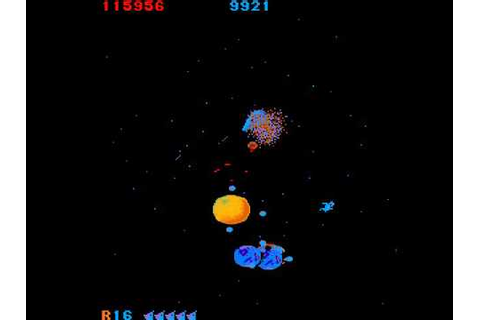 Arcade Game: Mad Planets (1983 Gottlieb) - YouTube