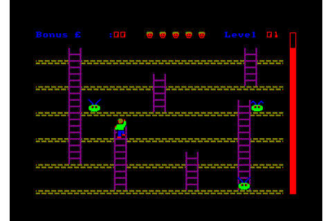 Roland Goes Digging (1984)(Amsoft) - ROMs Amstrad CPC ...