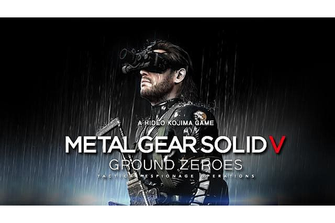 Metal Gear Solid V: Ground Zeroes Keyboard Controls Review ...