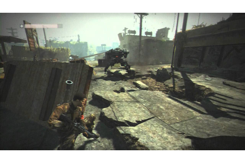Terminator Salvation - PS3 / 360 / PC - 30 Minute Gameplay ...