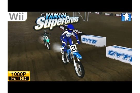 Yamaha Supercross - Wii Gameplay 1080p (Dolphin GC/Wii ...