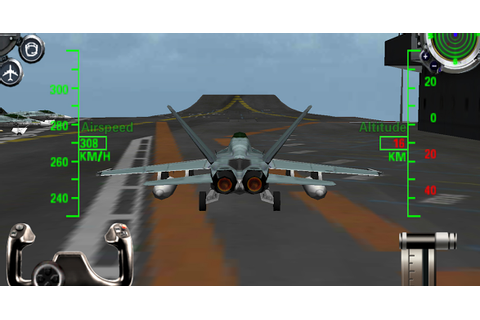 F18 3D Fighter jet simulator » Android Games 365 - Free ...