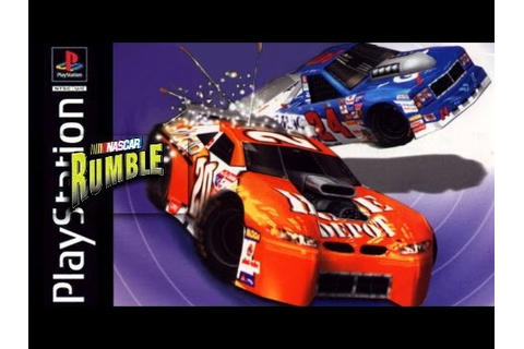 Let's Play NASCAR Rumble (PS1) Part 1 - YouTube