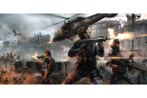 Wallpaper Modern Combat 5: Blackout, game, mmo, shooter ...
