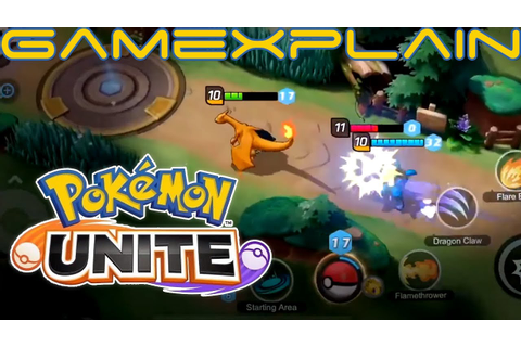 Pokémon UNITE - Reveal Trailer (Developed by Tencent ...