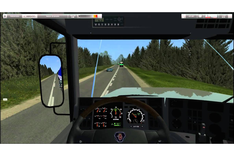 German Truck Simulator - Mapa Brasil Project v1.0 - YouTube