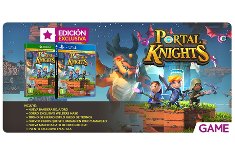 Portal Knights - Edición Gold Throne exclusiva en GAME ...