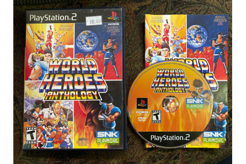 World Heroes Anthology (Sony PlayStation 2, 2008) for sale ...