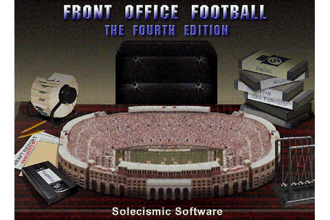 Front Office Football: The Fourth Edition - PC - IGN