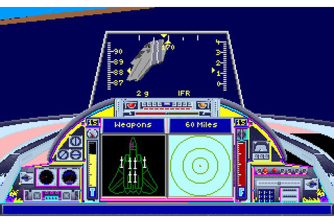 Top Gun Danger Zone Download (1991 Simulation Game)