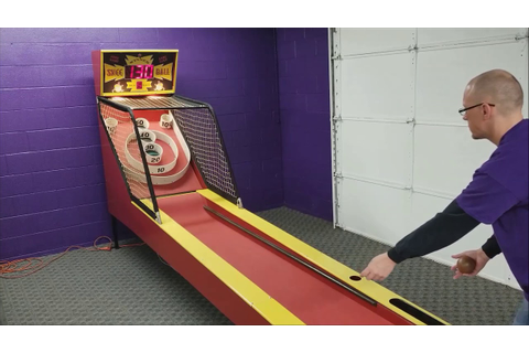 Classic Skee Ball Arcade Game Play - YouTube