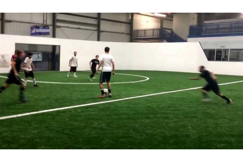 Soccer Game at High Velocity - YouTube