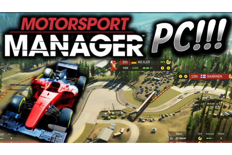 Motorsport Manager PC Gameplay (Motorsport Manager ...