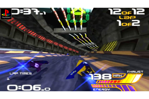 Wipeout 2097 - Gameplay PSX / PS1 / PS One / HD 720P ...