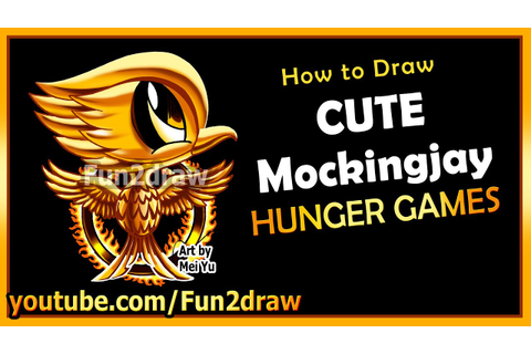 Cute Mockingjay Hunger Games - How to Draw Easy Things - Movie ...