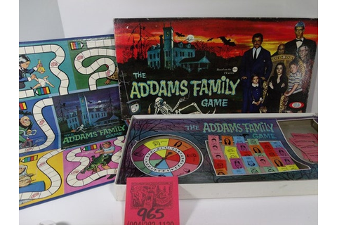 Ideal Addams Family Board Game