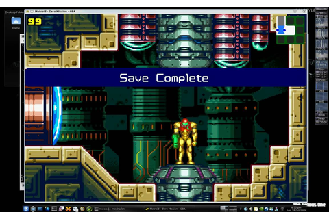 Metroid: Zero Mission (GBA) Running On Linux (Gentoo) With ...