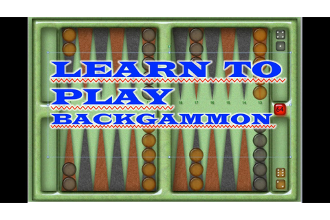 How To Play BACKGAMMON! Super Easy! - YouTube