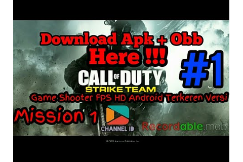 Call Of Duty Strike Team Android Game Play & Download Full ...