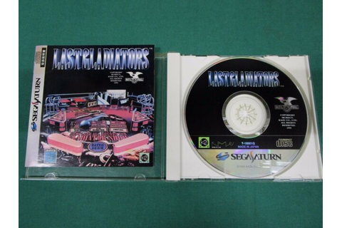 Sega Saturn -- Digital Pinball Last Gladiators -- *JAPAN ...