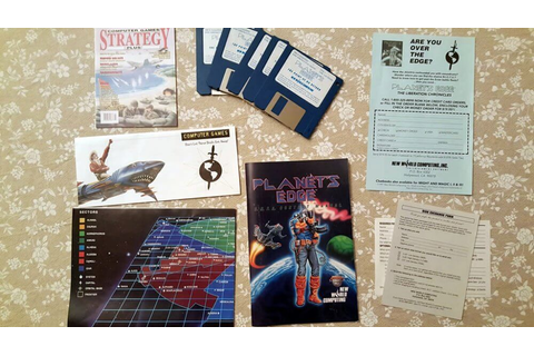Planet's Edge for PC IBM big box and collector's notes ...